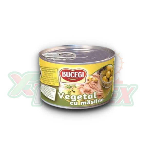 BUCEGI VEGETABLE SPREAD WITH OLIVES 200GR 48/BOX