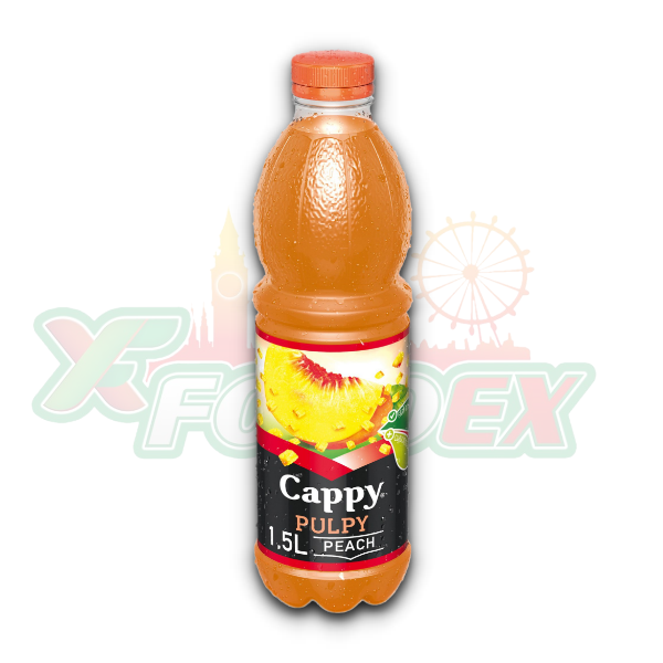 CAPPY PULPY PEACH 1.5L 6/BOX
