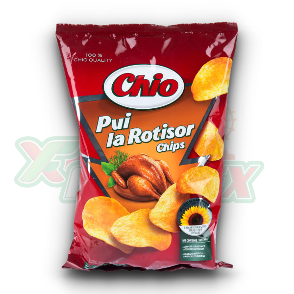 CHIO CHIPS CHICKEN FLAVOR 140GR 16/BOX
