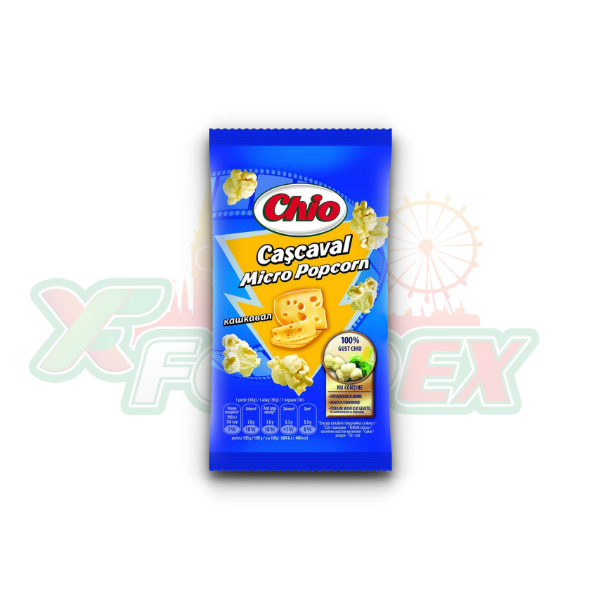 CHIO MICRO POPCORN WITH CHEESE FLAVOR 80GR 32/BOX