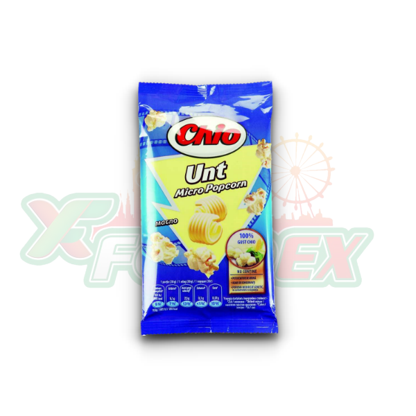 CHIO MICRO POPCORN WITH BUTTER FLAVOR 80GR 32/BOX