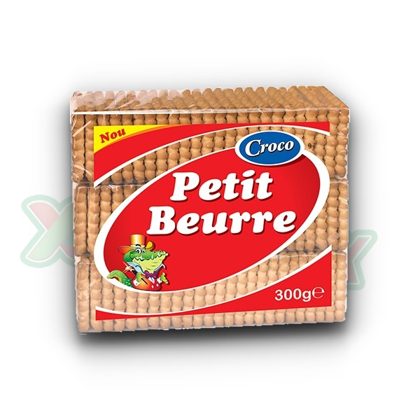 CROCO BISCUITS PETIT BEURRE 300GR 9/BOX
