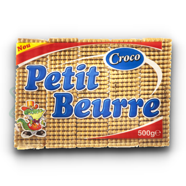 CROCO BISCUITS PETIT BEURRE 500GR 7/BOX