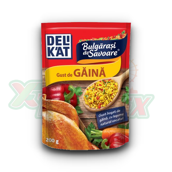 DELIKAT FLAVOR BALL WITH CHICKEN FLAVOR 200GR 12/BOX
