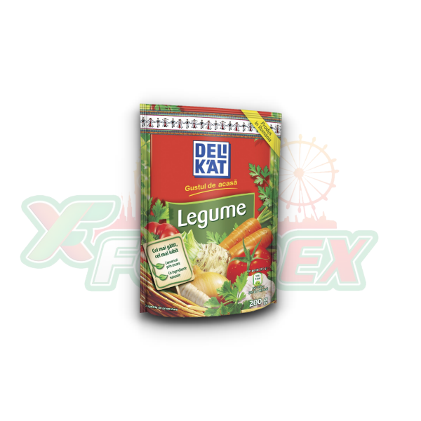 DELIKAT VEGETABLES 200GR 22/BOX
