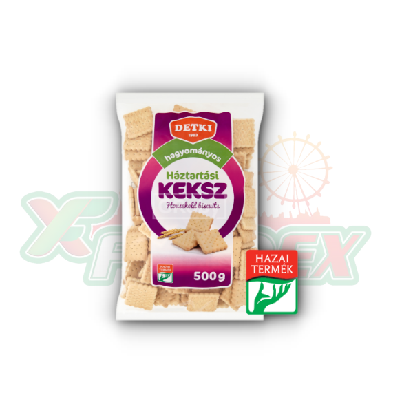 DETKI HOUSEHOLD BISCUITS 500GR 15/BOX