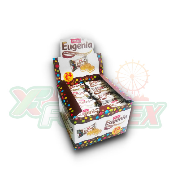DOBROGEA EUGENIA MILK & VANILLA 24X36GR/ DISPLAY, 8/BOX