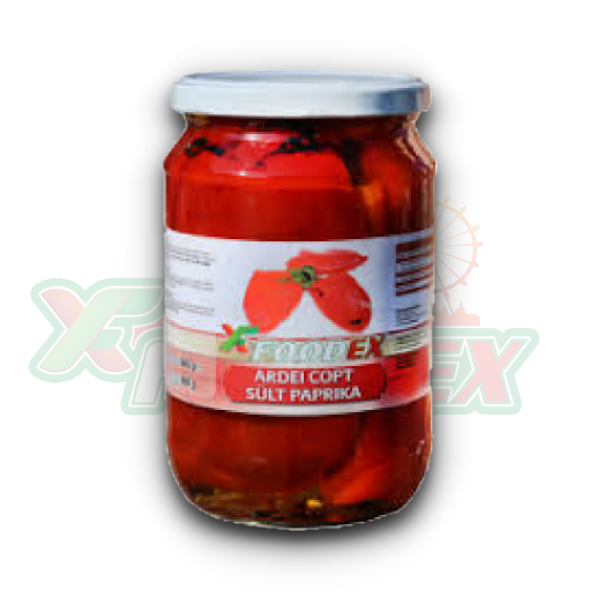 FOODEX BAKED PEPPERS 720GR 12/BOX