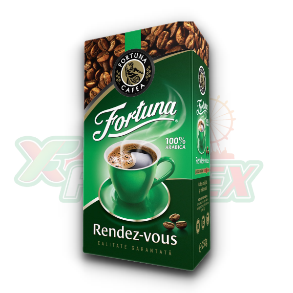 FORTUNA RENDEZ VOUS GROUND COFFEE 500GR 8/BOX