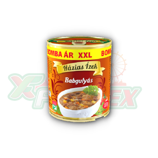 HAZIAS IZEK BEAN GOULASH 800GR 6/BOX