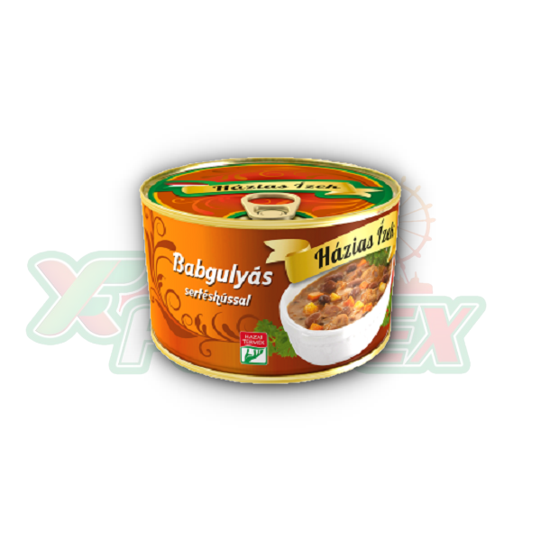 HAZIAS IZEK BEAN GOULASH WITH PORK MEAT 400GR 6/BOX