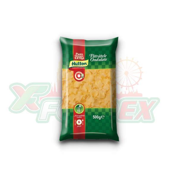 HUTTON SQUARE PASTA 250GR 20/BOX