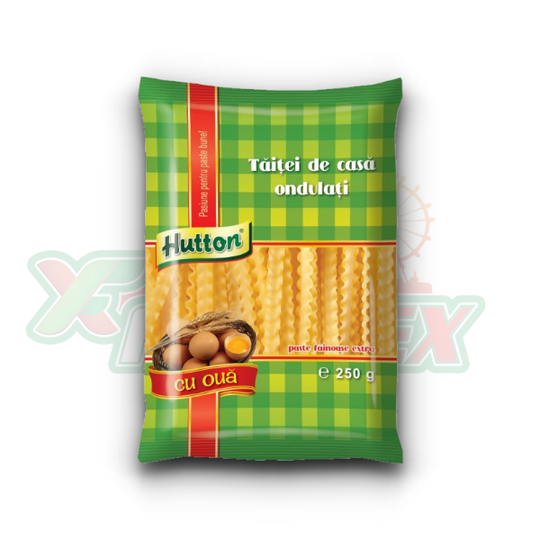 HUTTON CURLY NOODLES 250GR 20/BOX