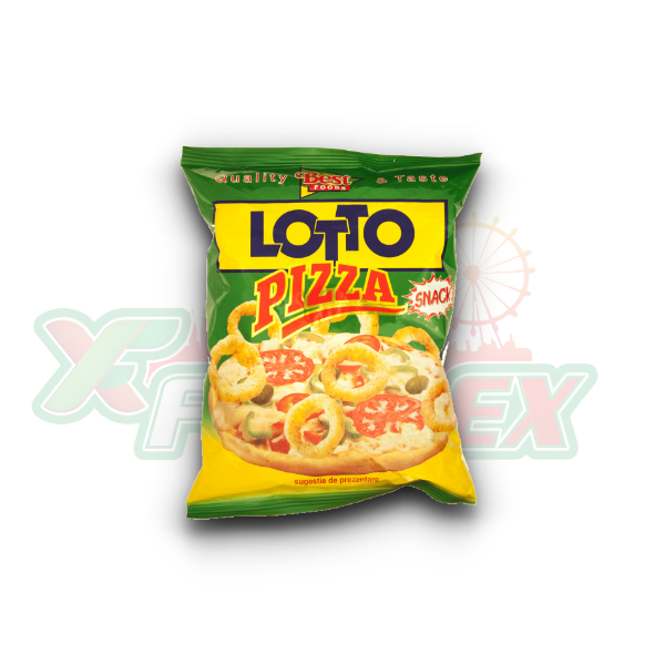 LOTTO SNACK PIZZA 35GR 40/BOX