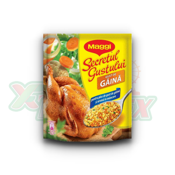 MAGGI INTENSE FLAVOR OF CHICKEN 1+1 400GR 2 X 4 PCS/BOX