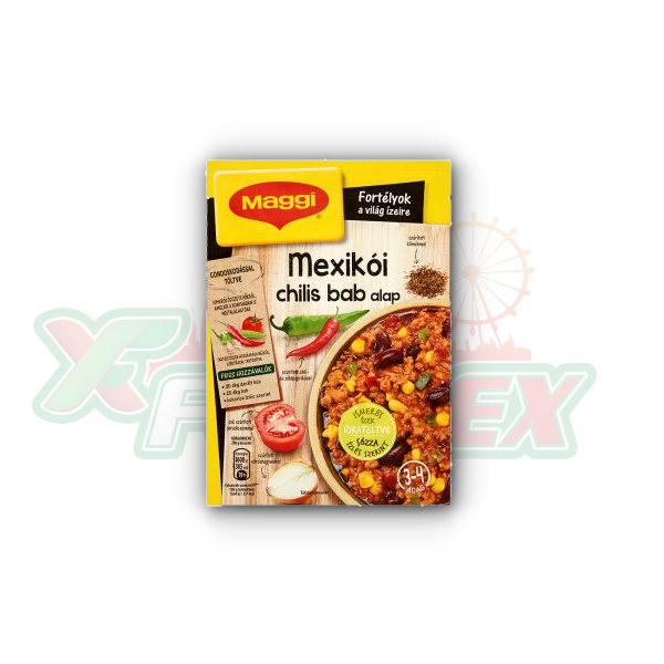 MAGGI MEXICAN CHILI BEANS BASE 55GR 25/BOX