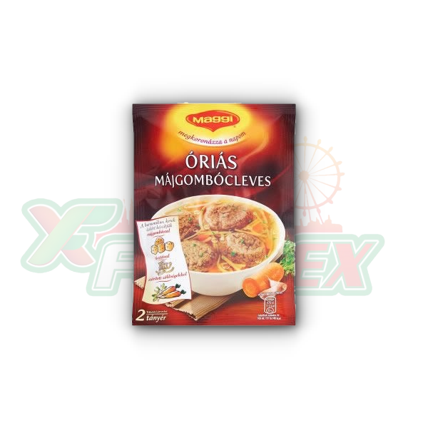 MAGGI GIANT LIVER DUMPLINGS SOUP 56GR 25/BOX