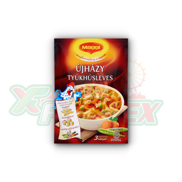 MAGGI ''UJHAZI'' CHICKEN SOUP 65GR 25/BOX