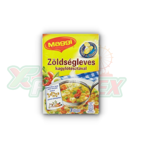 MAGGI VEGETABLE SOUP WITH SHELL PASTA 46GR 25/BOX