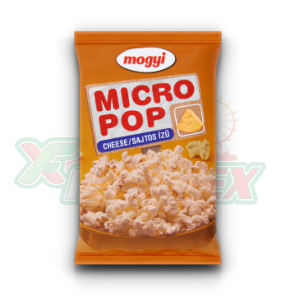MOGYI MICRO POPCORN WITH CHEESE FLAVOR 100GR 50/BOX