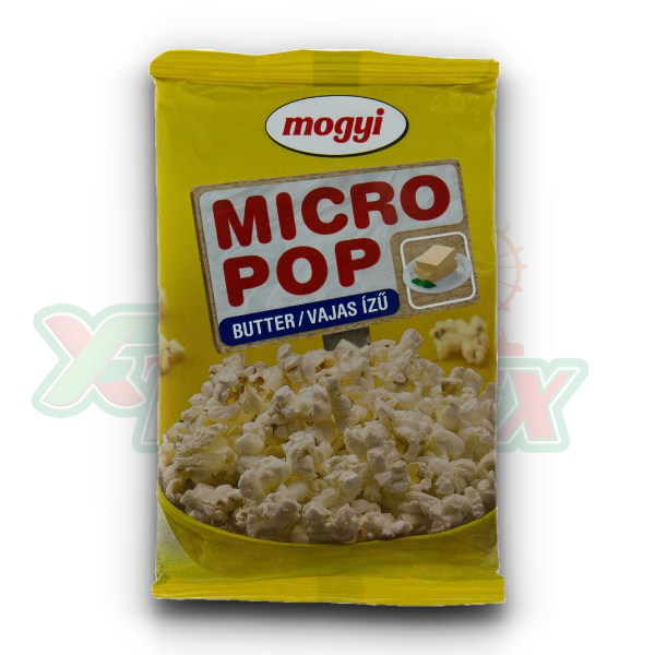 MOGYI MICRO POPCORN WITH BUTTER FLAVOR 100GR 50/BOX
