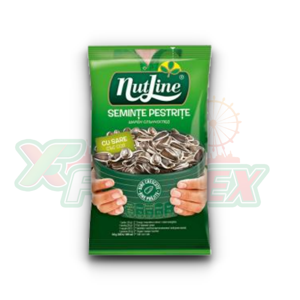 NUTLINE SUNFLOWER SEEDS WITH SALT 100GR 12/BOX