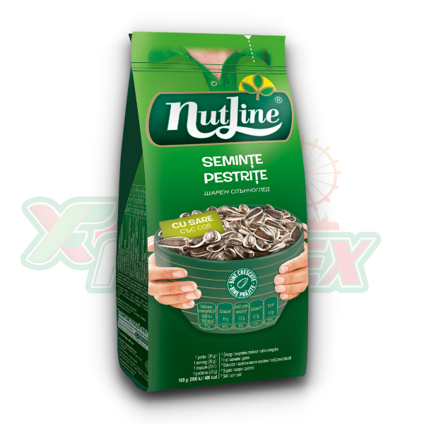 NUTLINE SUNFLOWER SEEDS WITH SALT 200GR 24/BOX