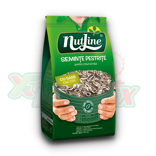 NUTLINE SUNFLOWER SEEDS WITH SALT 300GR 18/BOX