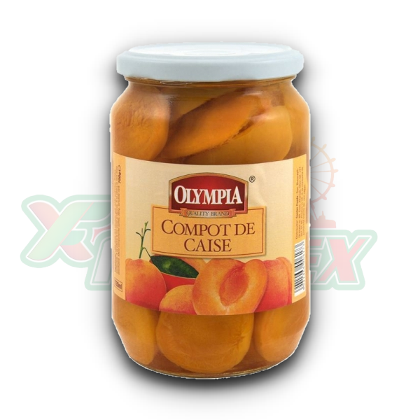 OLYMPIA APRICOT COMPOTE 720GR 6/BOX