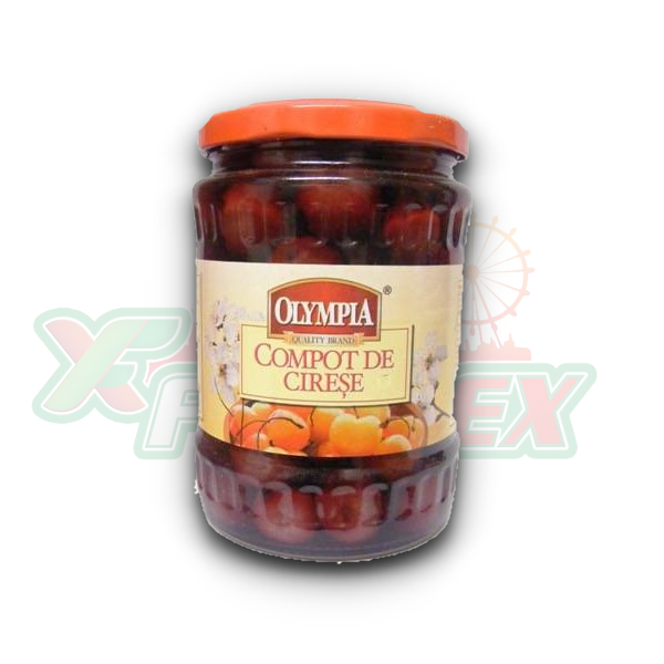 OLYMPIA CHERRY COMPOTE 530ML 6/BOX