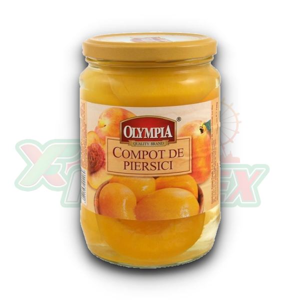 OLYMPIA PEACH COMPOTE 720ML 6/BOX