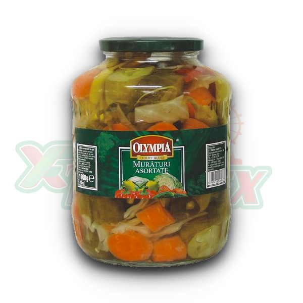OLYMPIA ASSORTED PICKLES 1700GR 2/BOX