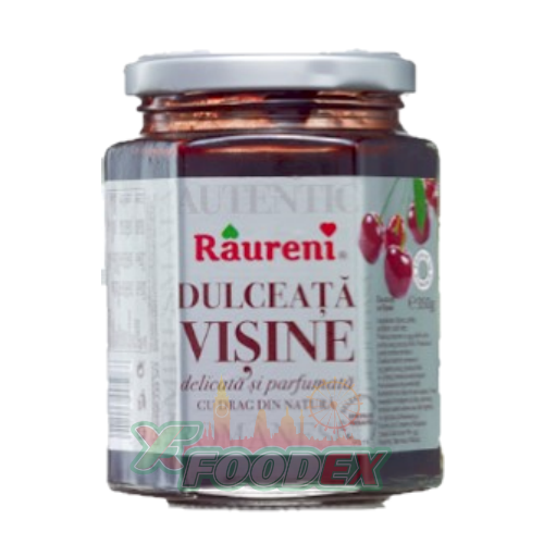RAURENI SOUR CHERRY JAM 350GR 6/BOX