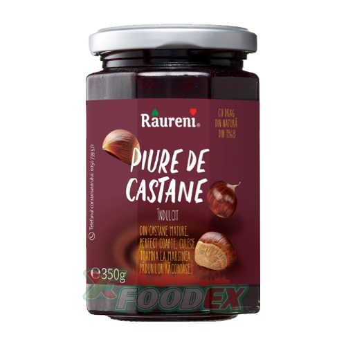 RAURENI CHESNUT PIUREE 220GR 6/BOX