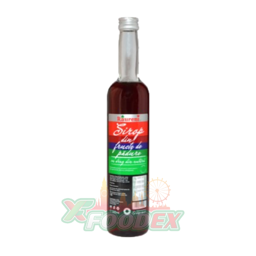 RAURENI FOREST FRUITS SYRUP 500ML 8/BOX