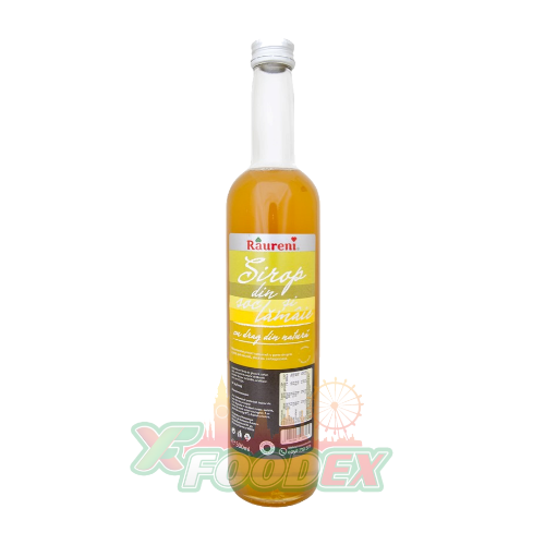 RAURENI ELDERFLOWER & LEMON SYRUP 500ML 8/BOX