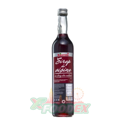 RAURENI SOUR CHERRY SYRUP 500ML 8/BOX