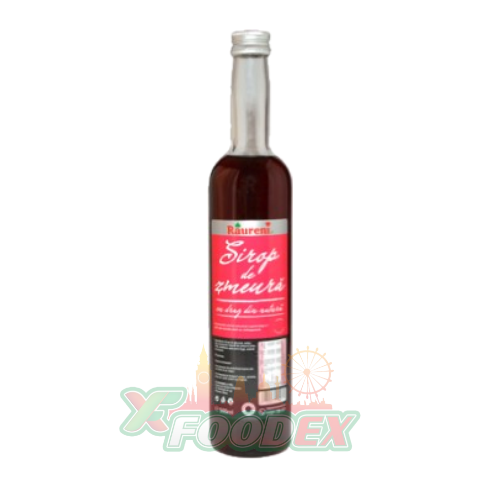 RAURENI RASPBERRY SYRUP 500ML 8/BOX