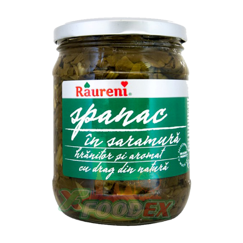RAURENI SPINACH IN BRINE 700GR 6/BOX