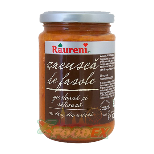 RAURENI ZACUSCA WITH BEANS 300GR 6/BOX
