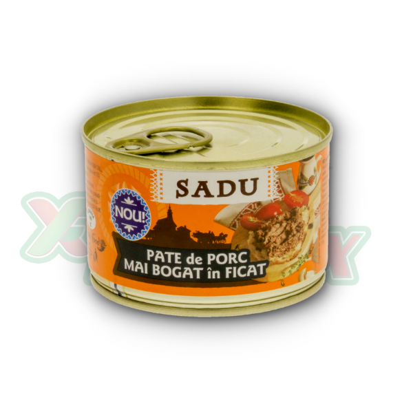 SADU PORK PATE WITH MORE LIVER 170GR