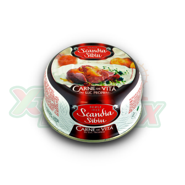 SCANDIA BEEF MEAT 300GR 6/BOX