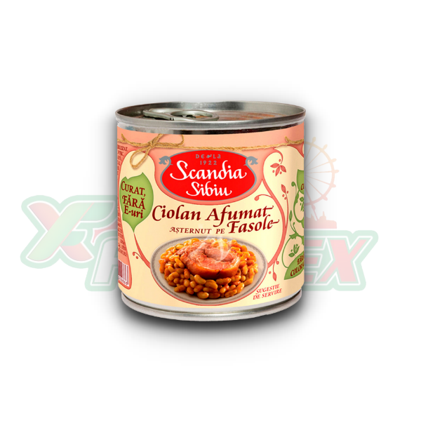 SCANDIA SIBIU KNUCKLE WITH BEANS 400GR 6/BOX