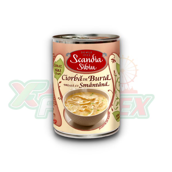 SCANDIA SIBIU TRIPE SOUP 400GR 6/BOX