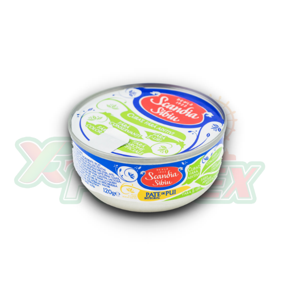 SCANDIA SIBIU CHICKEN LIVER PATE 120GR 60/BOX