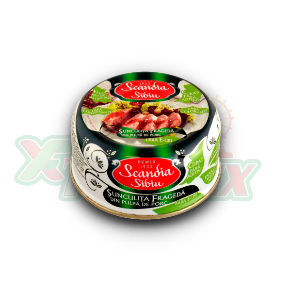 SCANDIA TENDER PORK HAM 300GR 6/BOX