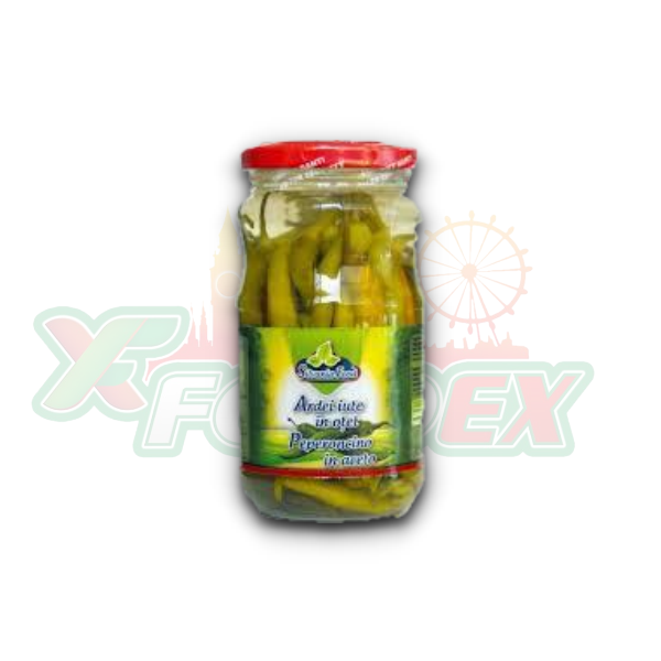 SILVANIA HOT PEPPERS 370GR 12/BOX