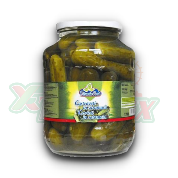 SILVANIA CUCUMBERS IN BRINE 1700GR 6/BOX