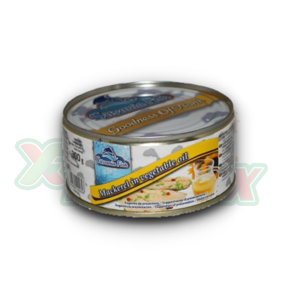 SILVANIA MACKEREL IN OIL 300GR 12/BOX