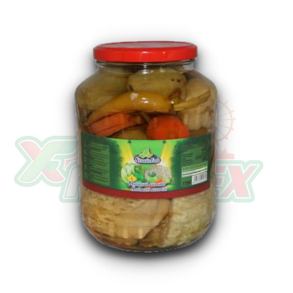 SILVANIA ASSORTED PICKLES 1700ML 4/BOX
